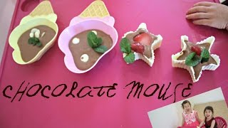 Chocolate Mouse Recipe - Chocolate Lovers with Hanna and Mia