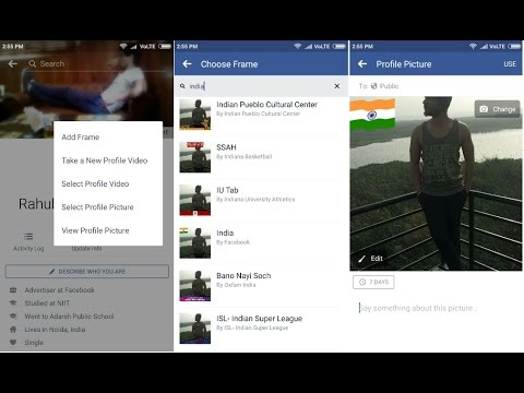 How to Add a Flag to Your Facebook Profile Pic