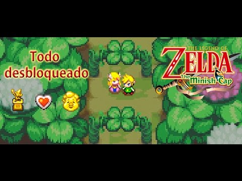 The Legend Of Zelda: The Minish Cap GBA + savegame + gameplay + todo desbloqueado