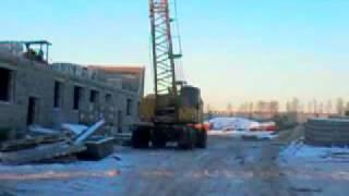 видео Кран самоходный КС-4372Б, КС-4372В Юргинец г/п 20 тонн