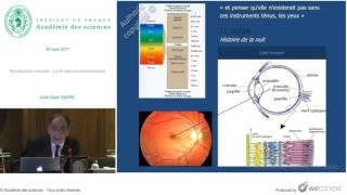 [Conférence] JA. SAHEL - Restauration visuelle - La fin des commencements