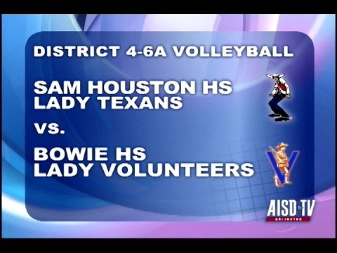 2016 Volleyball: Sam Houston Lady Texans at Bowie Lady Volunteers
