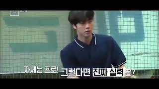 Jin And J-hope Bts Playing Tennis  Jin Funny Moment