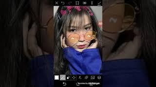 Cách chỉnh ảnh bằng app PicsArt hihi