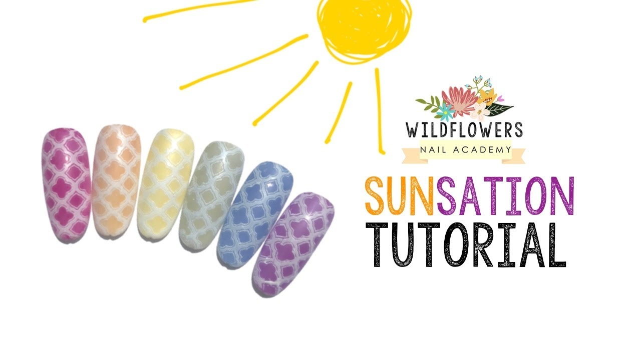Sunsation Nail Pigments Wildflowers Academy
