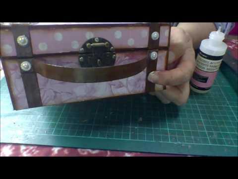 The Trinket Parlour DT Project Mini Suitcase Part 3