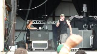 "All That Remains ""Stand Up"" Rock Fest 2013, Cadott, WI, live concert"