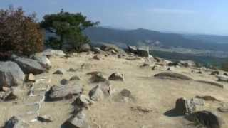 音楽:達者でな~古城~リンゴ村から~哀愁列車 映像:岡山県総社市 鬼...