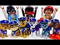 Freeze~! Here Comes Paw Patrol Police Pups #ToyMartTV
