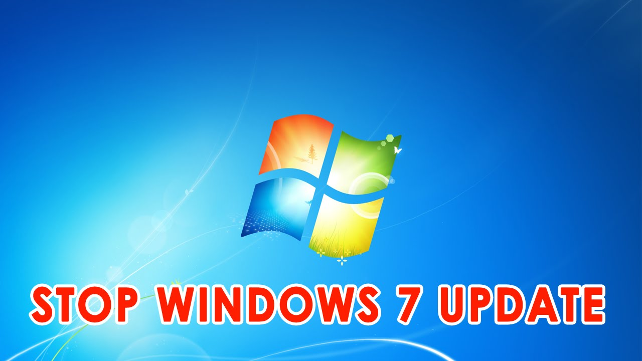 How to disable Windows 7 update to maintain system stability 91