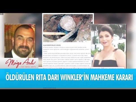 Öldürülen Rita Dari Winkler'in mahkeme kararı ne oldu? - Müge Anlı İle Tatlı Sert 29 Mart 2018