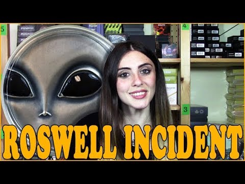 👽 ROSWELL INCIDENT 👽 REVIEW - 70th Anniversary UFO 3 Oz SILVER COIN - Cameroon 2017