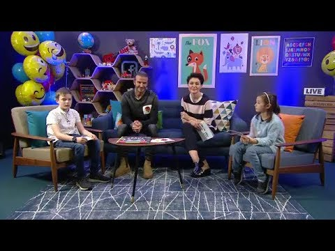 David Beckham and Emma Willis was Live for UNICEF's World Children's Day