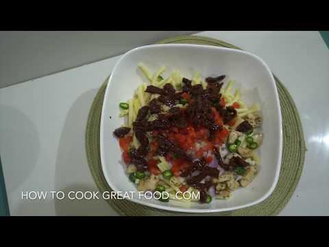 Easy Creamy Pasta Salad  – Chicken Pasta Mayo Salad – Chicken Mayo – Chicken Salad – Pasta Salad