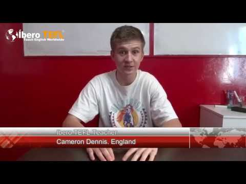 Cameron explains why he liked our course