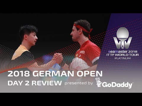 2018 ITTF German Open | Day 2 Review presented by GoDaddy