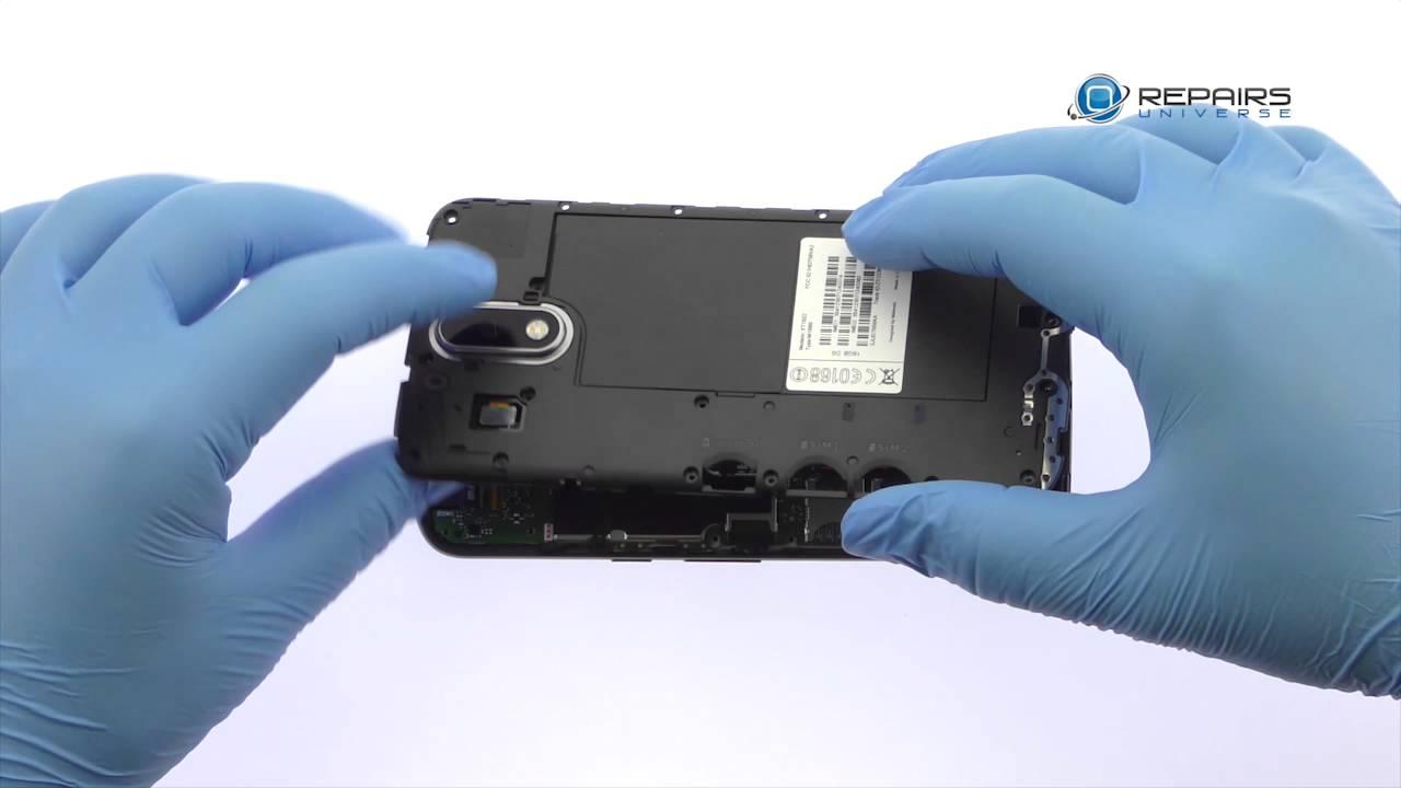 Motorola Moto G4 Battery Replacement Guide - RepairsUniverse - YouTube