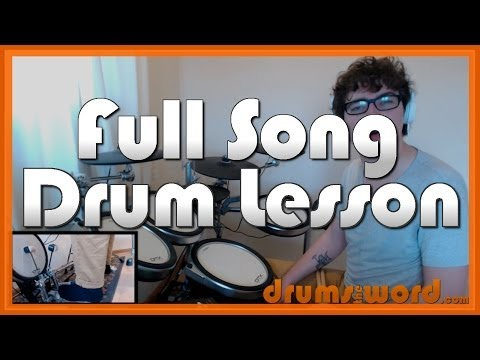 ★ Aneurysm (Nirvana) ★ Drum Lesson PREVIEW | How To Play Song (Dave Grohl)
