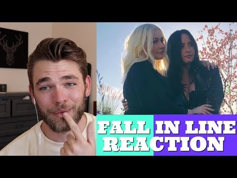 FALL IN LINE MUSIC VIDEO REACTION (Christina Aguilera ft. De