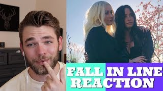 Fall In Line Music Audio Reaction Christina Aguilera Ft Demi Lovato