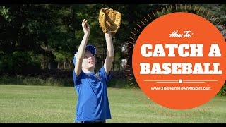 How To catch a baseball - by The Hometown All-Stars (children book series)