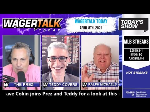 Daily Free Sports Picks   MLB Picks and NBA Betting Tips on WagerTalk Today   April 8