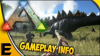 ARK: Survival Evolved Gameplay Information! - Dinosaur & Pet Info, Combat System & More!