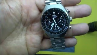 Omega Speedmaster MKII MK2 Re-issue Watch Review