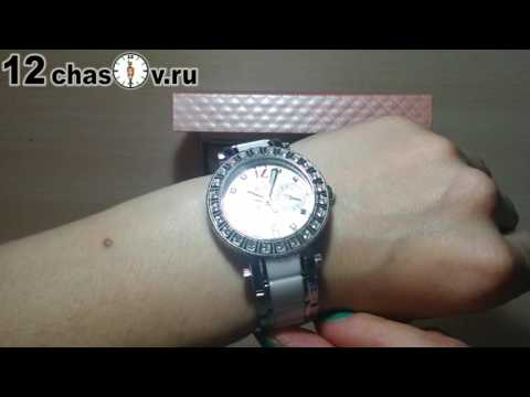 Женские испанские наручные часы с керамическим браслетом Festina F165871
