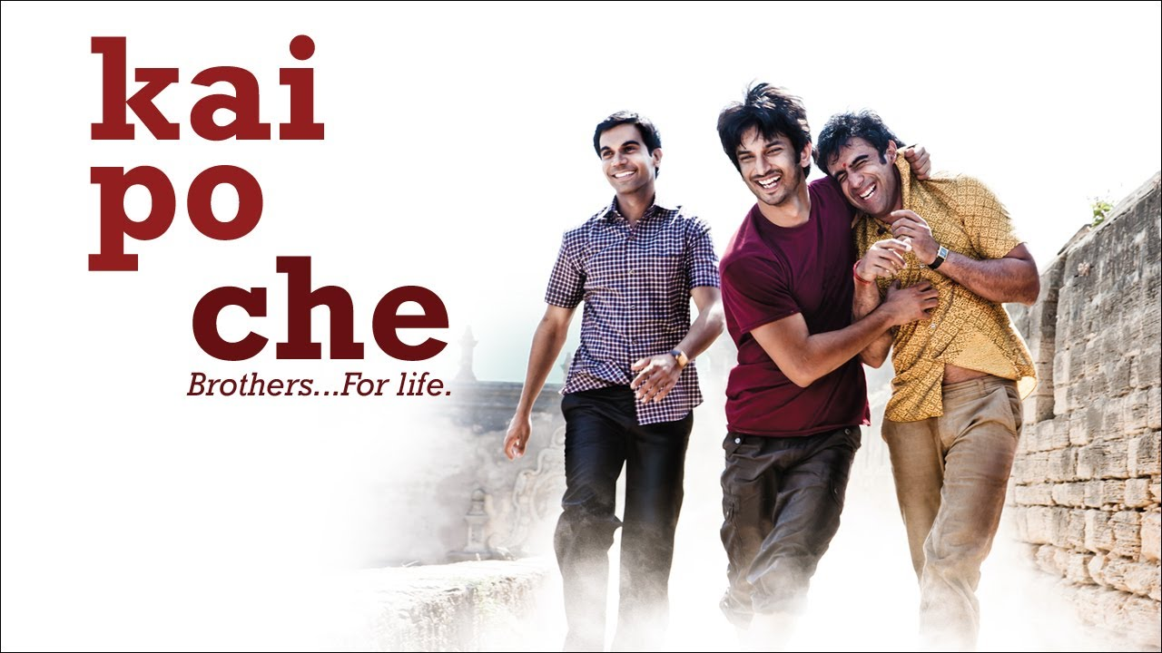 kai po che Kai po che is abhishek kapoor's second film as a director which was adapted  from a novel the three mistakes of my life by chetan bhagat.