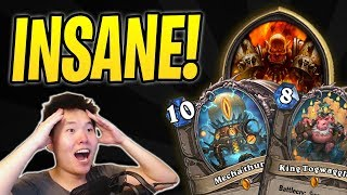 Most INSANE Hearthstone Game of my Life! | Mecha