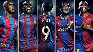 As there was no video like this on , i decided to make it. all the 130 official & 14 friendly goals of samuel eto'o, my favorite #9 barcelona. if y...
