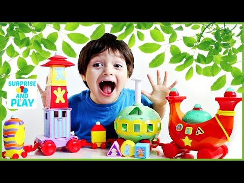Learn Shapes with the Ninky Nonk Musical Activity Train In The Night Garden Toy