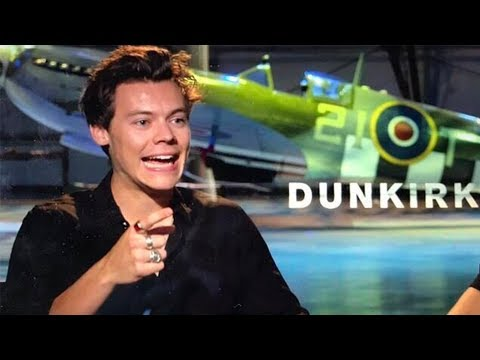Harry Styles and Fionn Whitehead 'Dunkirk' Interview