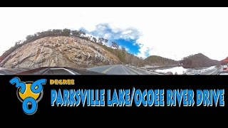 ↔ 360 DEGREE Parksville Lake - Ocoee River Drive OPENING WHITEWATER RAFTING DAY!
