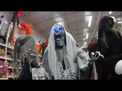 Driving The RV Looking For Boondocking | Checking Out Home Depot's Halloween Section