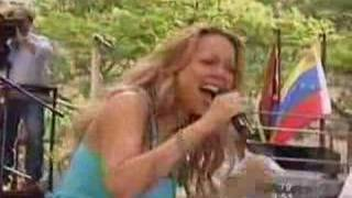 Mariah Carey Yours Today live show 2003