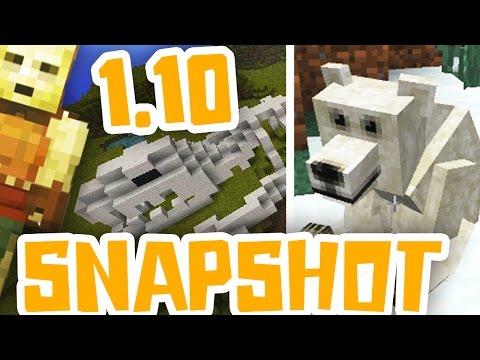 ORSI POLARI, FOSSILI E TANTE NOVITA'  - Minecraft Snapshot 16w20a