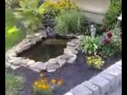 The Pond in our front yard - YouTube on Front Yard Pond  id=92938