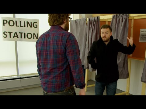Alex Brooker Finally Votes! - The Last Leg