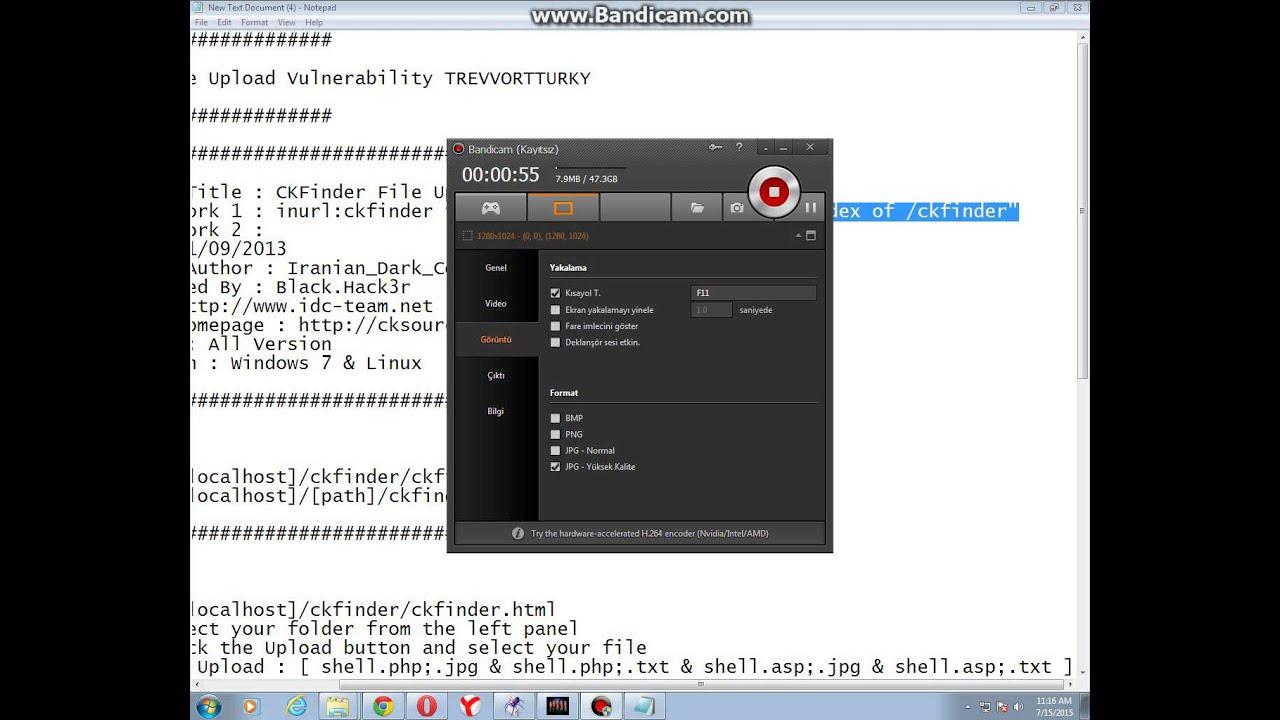 CKFinder File Upload Vulnerability