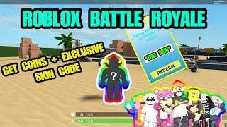 [EXKLUSIVE SKIN CODE]🔫Roblox Battle Royale Simulator Neue Codes | GET FREE SKIN🤑