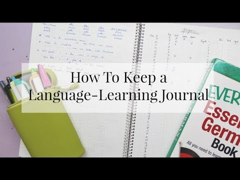 How To Keep a Language-Learning Journal | Everything Janis