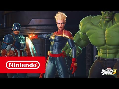 MARVEL ULTIMATE ALLIANCE 3: The Black Order – Launch Trailer (Nintendo Switch)