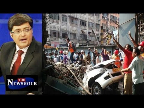 Kolkata Flyover Collapse - Man Made Or Natural Tragedy? : The Newshour Debate (31st Mar 2016)