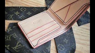 making a diy louis vuitton wallet