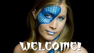 ✅WELCOME TO MY CHANNEL: Bodypainting, Beauty Makeup, SFX Makeup, & Much More! - Witte Artistry