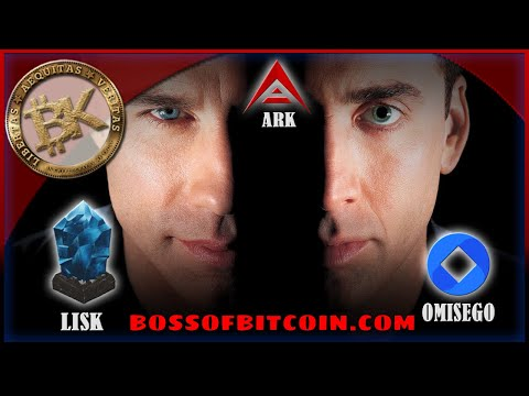 Crypto Face Off - OMISEGO / LISK / ARK⚡ BTC 9K | FREE BITCOIN Prediction 2018 Cryptocurrency Trading