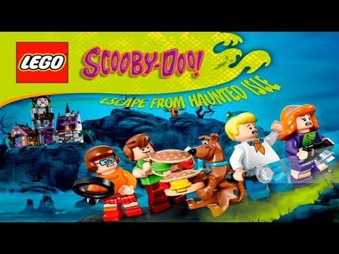 ЛЕГО Скуби-Ду Побег с Острова Приведений LEGO 1-3 уровни Детское Видео Игровой Мультик