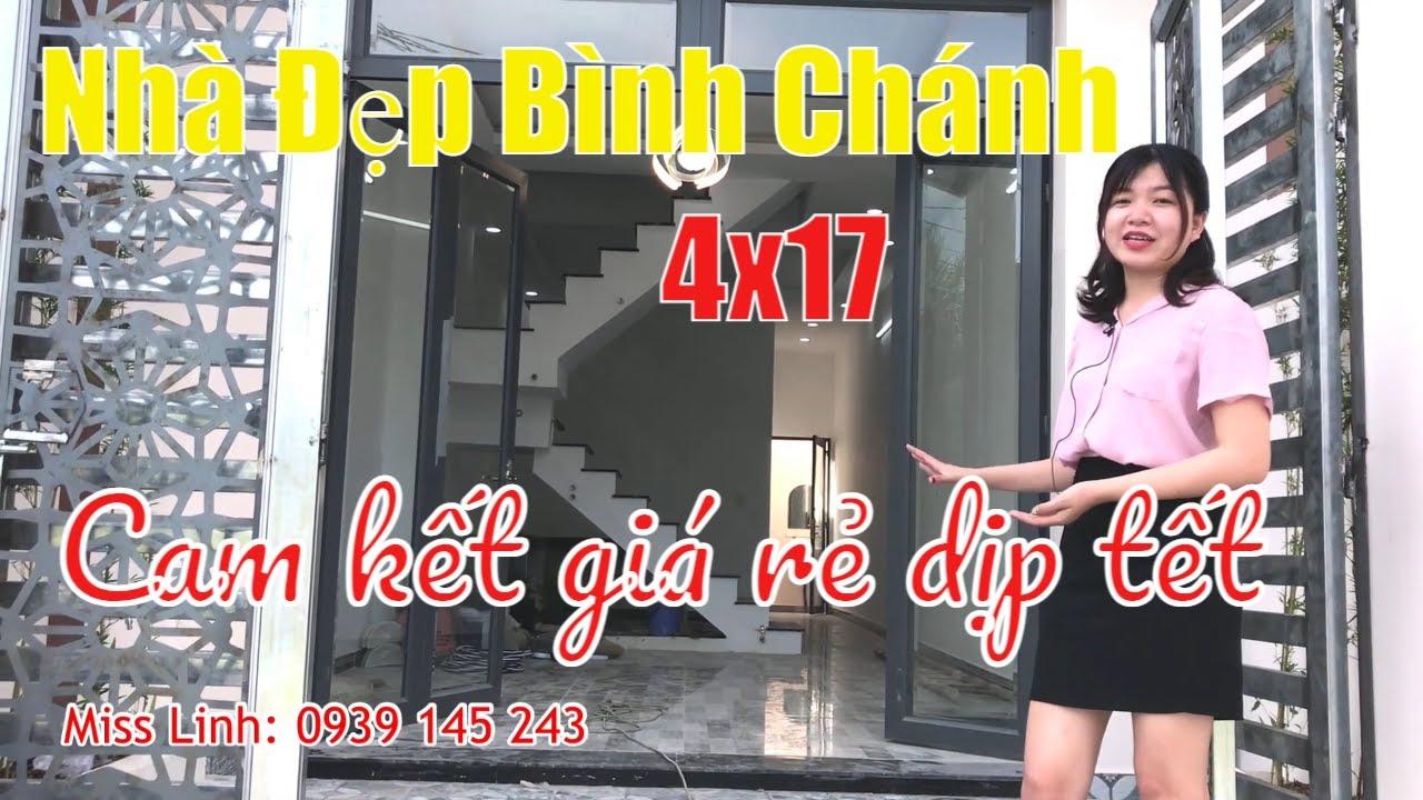 Nhà Đất Sài Gòn 2021 – Bán Đẹp Bình Chánh Chính Chủ – Mẫu Nhà Tân Cổ Điên 4×17